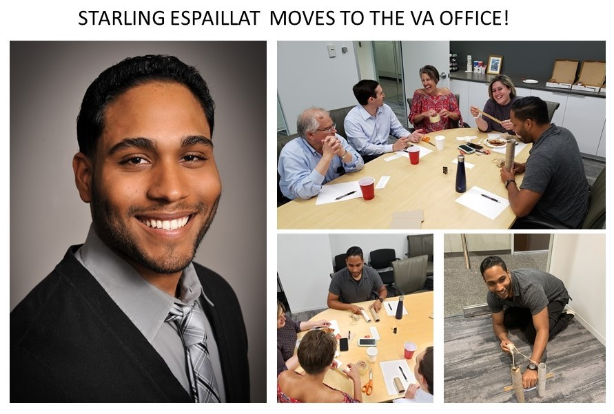 Starling Moves to VA Office