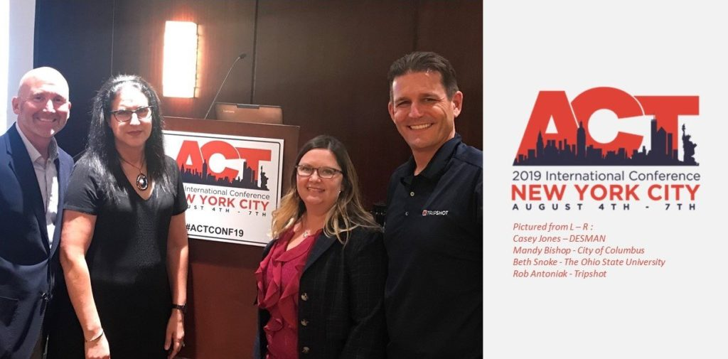 Casey at ACT conference